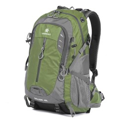 Vanwalk 40L Hiking Backpack Water-Resistant Lightweight Packable Durable Travel Daypack for Unisex(Green)